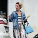 Ashley Scott – Out for lunch in Los Angeles