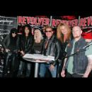 Mick Mars, Alice Cooper, Wendy Dio, Chris Jericho, Sebastian Bach and Mike Valley attend the Revolver Golden Gods Award Show 2011 nominees announcement & press conference at Club Nokia on February 24, 2011 in Los Angeles, California. (Photo by Paul Archul