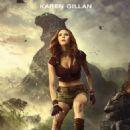 Karen Gillan as Ruby Roundhouse in Jumanji: Welcome to the Jungle - 454 x 726