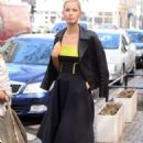 Karolina Kurkova Leaving Good Morning Tvn In Warsaw