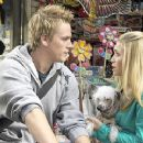 Riley Smith and Ashley Olsen