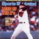 Roger Clemens - Sports Illustrated Magazine Cover [United States] (12 May 1986)