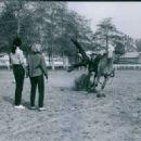 Marta Kristen and Buzz Henry, a stuntman, 1963 - 454 x 327