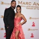 Becky G and Sebastian Lletget - 2016 Latin GRAMMY Person Of The Year Event Honoring Marc Anthony in Las Vegas - 454 x 681