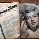 Lana Turner - Movies Magazine Pictorial [United States] (May 1945) - 454 x 340