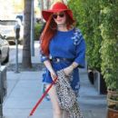 Phoebe Price was seen in Beverly Hills, California on March 31, 2017 - 413 x 600