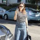 Jennifer Garner – Arrives for Sunday church services in Pacific Palisades