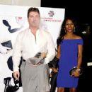 Simon Cowell and Sinitta Cowell