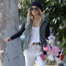 Ashley Tisdale: Out and about with her niece Mikayla in Toluca Lake