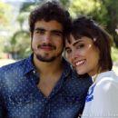 Caio Castro and Maria Casadevall
