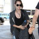 Kristen Stewart Arrives At Los Angeles International Airport In La