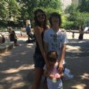 Luciana Gimenez with sons Lucas Jagger & Lorenzo Fragali - NYC - June/2016