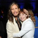 Steven Tyler and actress Frances Fisher attend The Humane Society of the United States' to the Rescue Gala at Paramount Studios on May 7, 2016 in Hollywood, California.