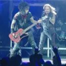 Mötley Crüe performs at the Bell Centre in Montreal, Canada, Monday May 13, 2013