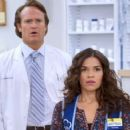 America Ferrera and Josh Lawson