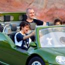Selena Gomez out and about at Disneyland in Anaheim Calif.  April 2nd, 2017