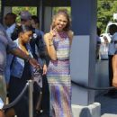 Zendaya stops by 'Extra' at Universal Studios Hollywood on July 29, 2016 in Universal City, California