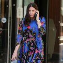 Lisa Snowdon – Filming outside ITV Studios in London - 454 x 667