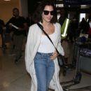 Jenna Dewan at LAX airport in Los Angeles - 454 x 681