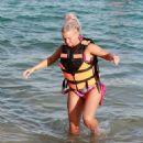 Kerry Katona in Bikini on holiday in Thailand - 454 x 550