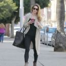 Ashley Greene in Black Jeans – Out in Beverly Hills