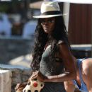 Naomi Campbell Wearing Bikini In Ibiza 2