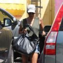 Halle Berry: headed to Mailan Nail Salon