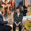 Ali Larter and Milla Jovovich – Good Morning America in New York January 28, 2017 - 454 x 355