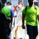 Kaia Gerber – Photoshoot candids for Coach in The West Side Hudson Park