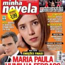 Marjorie Estiano, Two Faces - Minha Novela Magazine Cover [Brazil] (16 May 2008)
