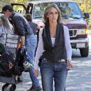 Jennifer Love Hewitt - Set Of 'Ghost Whisperer, 2009-10-01
