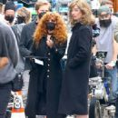 Natasha Lyonne and Annie Murphy – Russian Doll set in Soho - 454 x 595