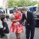 King Willem-Alexander and Queen Maxima of The Netherlands Open Holland Festival - 454 x 592