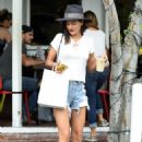 Jessica Szohr at Mauro's Cafe in West Hollywood, October 2016 - 454 x 639
