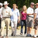 Julia Stiles on the set of 'Dexter' in Long Beach 10-01-2010