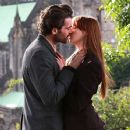 Karen Gillan and Stanley Weber