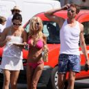 Tara Reid In Bikini Buys A Sandwich For Breakfast In St Tropez, July 27 2009