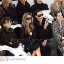 Victoria Beckham and L'Wren Scott attend the Chanel fashion show during Paris Fashion Week (Haute Couture) Spring/Summer 2006 on January 24, 2006 in Paris, France - 454 x 348