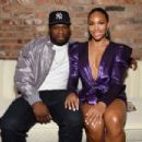 50 Cent and Jamira Haines - 454 x 302