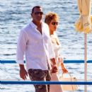 Jennifer Lopez and Alex Rodriguez – Out in Nerano