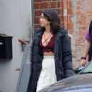 Sarah Hyland on the set of 'The Wedding Year' in Hollywood