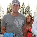 Jessica Simpson - Candids At The Heart Concert In Lake Tahoe