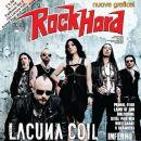 Marco Coti Zelati, Andrea Ferro, Cristina Scabbia - Rock Hard Magazine Cover [Italy] (January 2012)