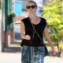 Reese Witherspoon goes to a swimming class on September 2, 2014 in West Hollywood, California