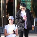 Christina Aguilera – Christmas shopping at Barneys New York in LA