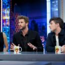 Liam Hemsworth-November 26, 2015-Attends 'El Hormiguero' Tv Show