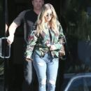 Khloe Kardashian is spotted leaving a studio in Los Angeles, California on March 28, 2017 - 425 x 600