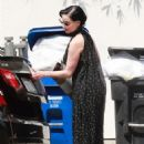 Dita Von Teese in Black Dress – Out in West Hollywood