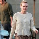 Diane Kruger: shopping at Gelson's