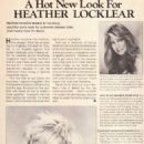 Heather Locklear - Celebrity Hairstyles Magazine Pictorial [United States] (July 1986) - 454 x 656